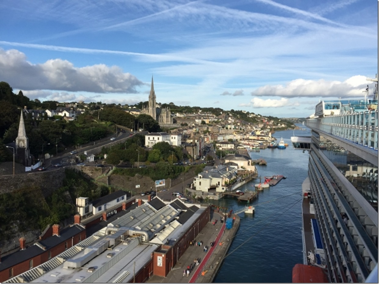 Day 21 – 9/16 – Cobh, Ireland (the port for Cork)