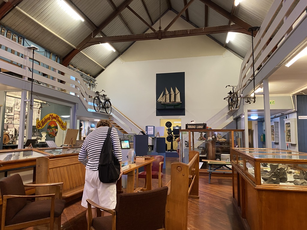 Day 20  –  Feb 19  –  Wednesday  –  A Quick Trip to the Devonport Museum