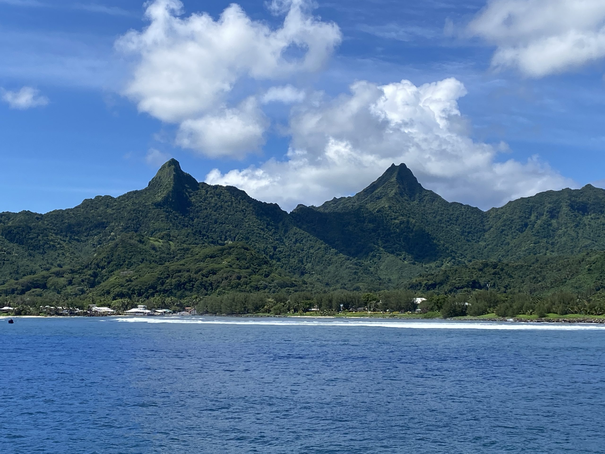 Day 44  –  March 13  –   Friday  –  Still offshore Rarotonga